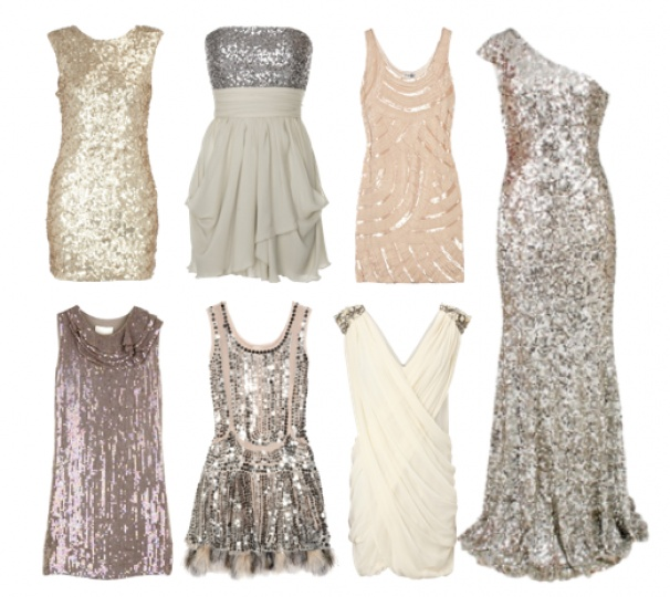 I need a sparkly dress for my gal's wedding on NYE!!!  New Year's Eve Ideas | Fashion Style Magazine