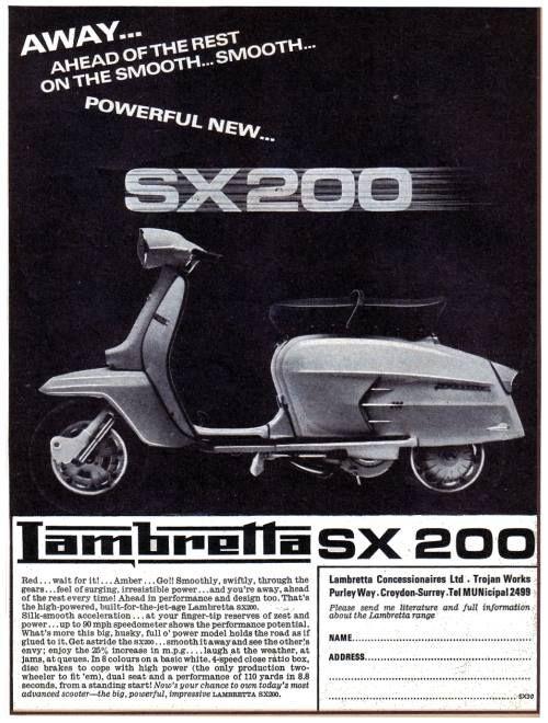 Lambretta SX200