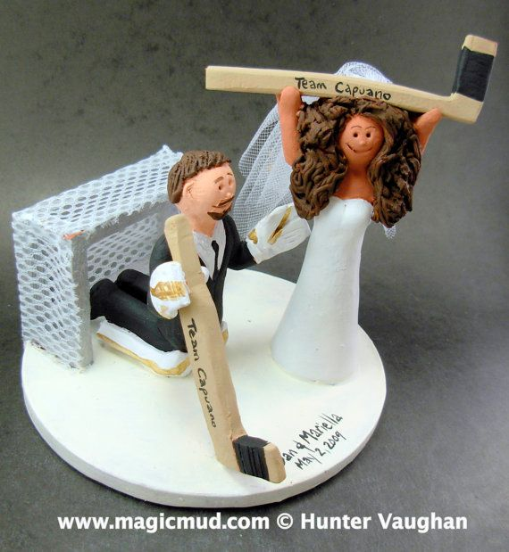 custom hockey wedding cake toppers 53 best hockey wedding cake toppers images on 13202