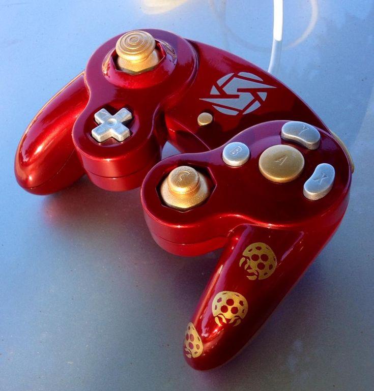 Metroid GameCube Controller!!!