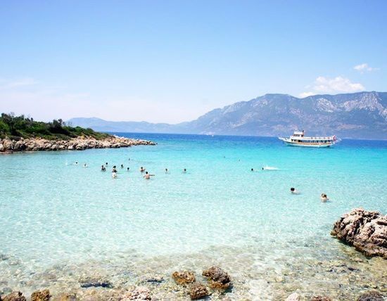 Cleopatra Beach Marmaris Turkey