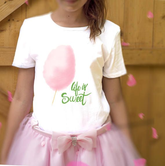 t-shirt bimba life is sweet