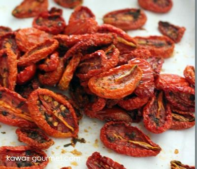 Oven Dried Tomatoes- I have been doing this for years and freezing ...