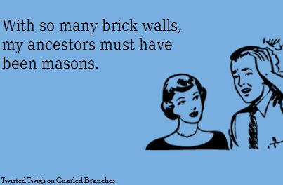 sometimes i think my ancestors created brick--i'll look for them in a cave if i have to