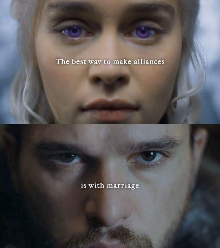 King Jon & Queen Daenerys of House Targaryen