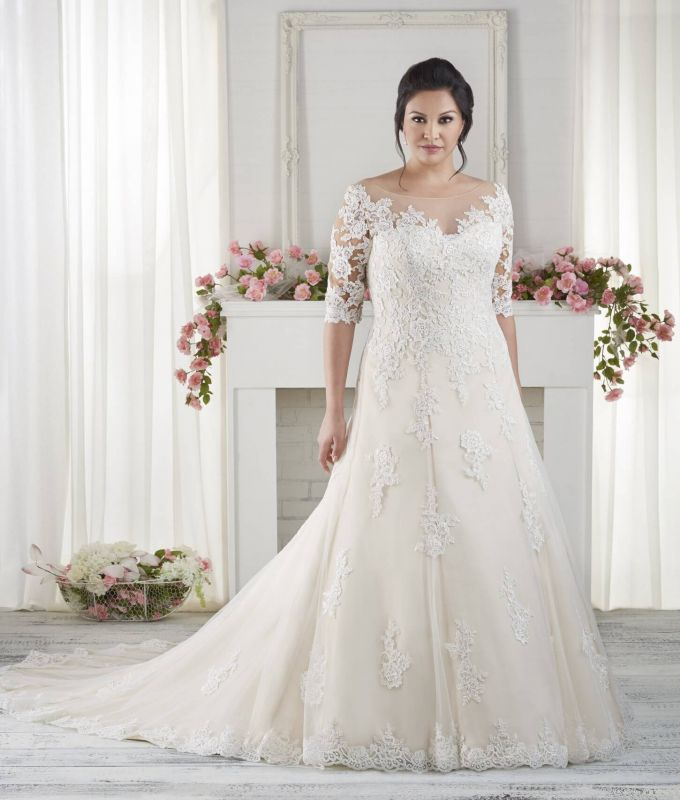 Wedding Gown For Fat Brides