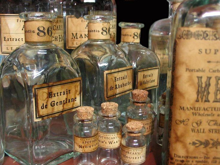 Best 25 apothecary bottles ideas on pinterest vintage for Halloween medicine bottles