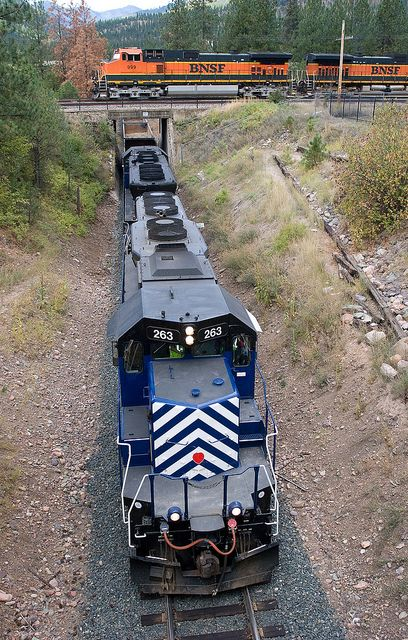 Montana Rail Link over-under | Flickr - Photo Sharing!