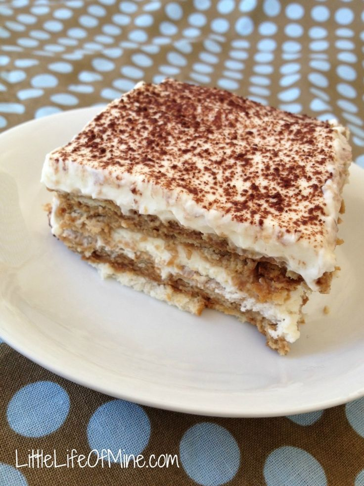 Nescafe cake, best idea ever! A shortcut to Tiramisu :)