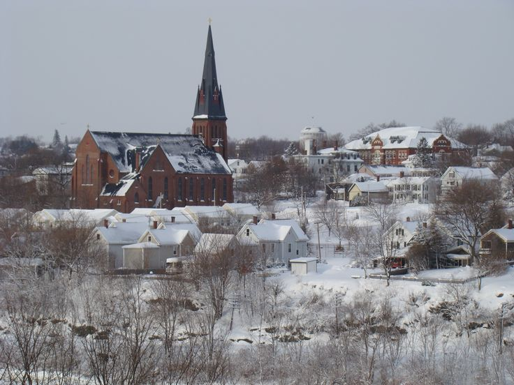 Bangor, Maine ....in the middle of winter.