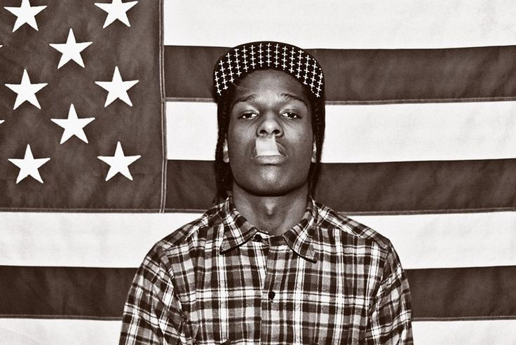 A$AP Rocky Poster Ships securely today in a crush proof poster shipping tube: Click here for more Posters!