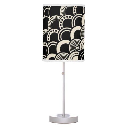 Designer Art Deco Desk Lamp