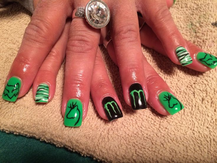 10 best Fox and monster nails images on Pinterest | Monster nails ...