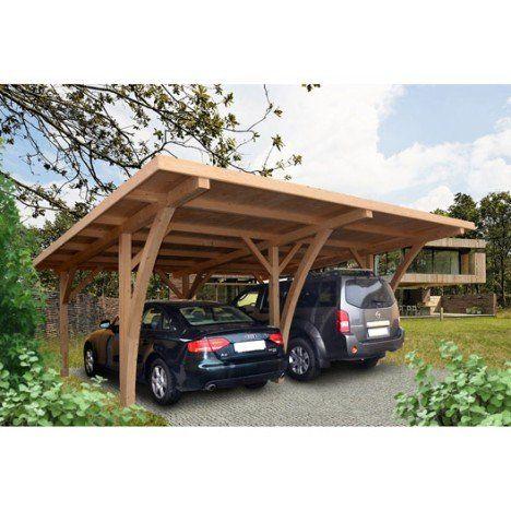 17 meilleures id es propos de carport bois sur pinterest. Black Bedroom Furniture Sets. Home Design Ideas