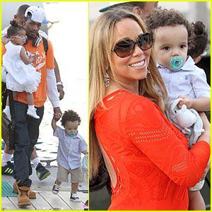 Mariah Carey & Nick Cannon: Australia Sailing with the Twins!