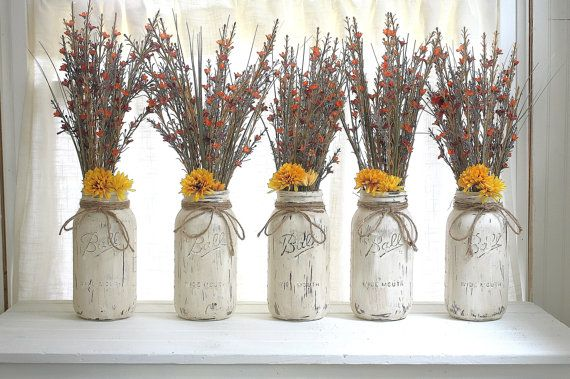 Free Shipping  Wild Flower Arrangement  by ALittleCommonScents