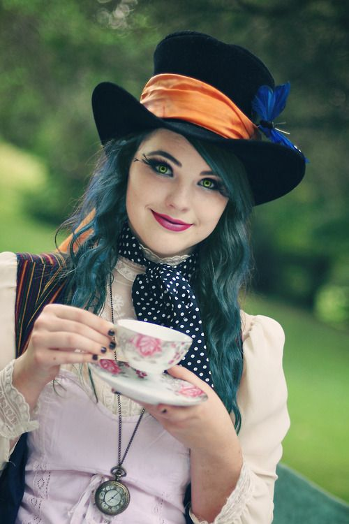 mad hatter...you could really make this look your own.