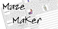 Use the free, ready-made, tools for teaching - printable worksheets, worksheet templates, or make your own with the on-line teaching materials makers, with images!