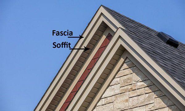 Https Www Homeadvisor Com R Wp Content Uploads 2018 01 Fascia And Soffit On House 1 Jpg In 2020 Fascia Roof Fascia Board