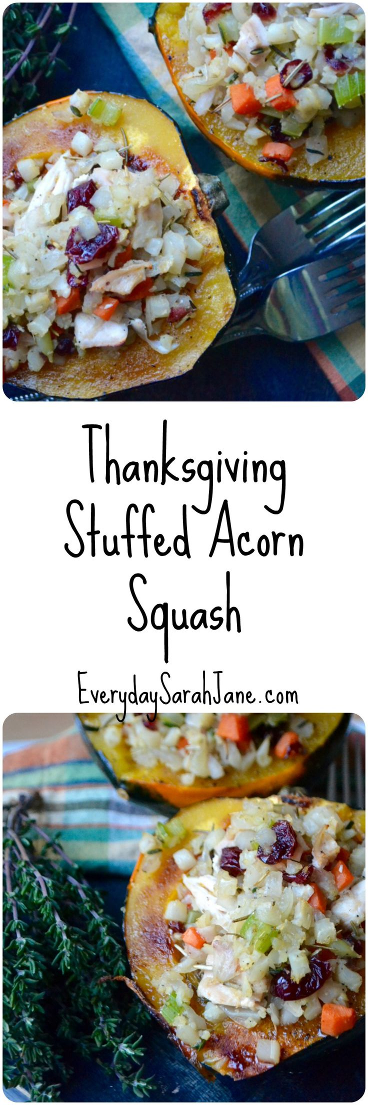 One of my favorite ways to use Thanksgiving leftovers!