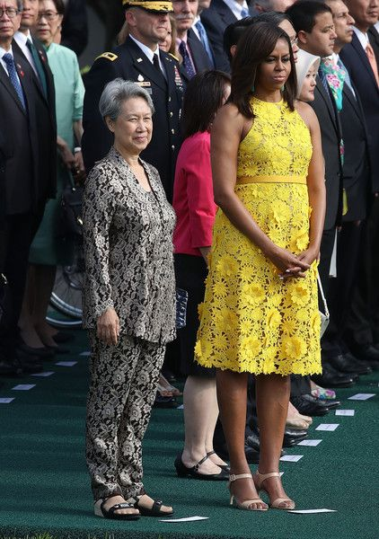 Michelle Obama Photos - President Obama Hosts State Dinner for Singapore's Prime Minister Lee Hsien Loong - Zimbio