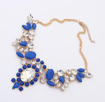 2014 новые мода пузырь биб себе ожерелья подвески конфеты цвет цветок акриловые для свадьбы женская ну вечеринку ювелирных изделий