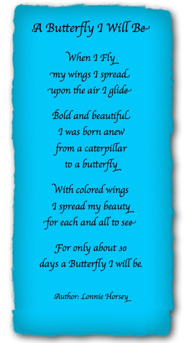 Author: Lonnie Horsey | Butterfly Poems & Quotes ...