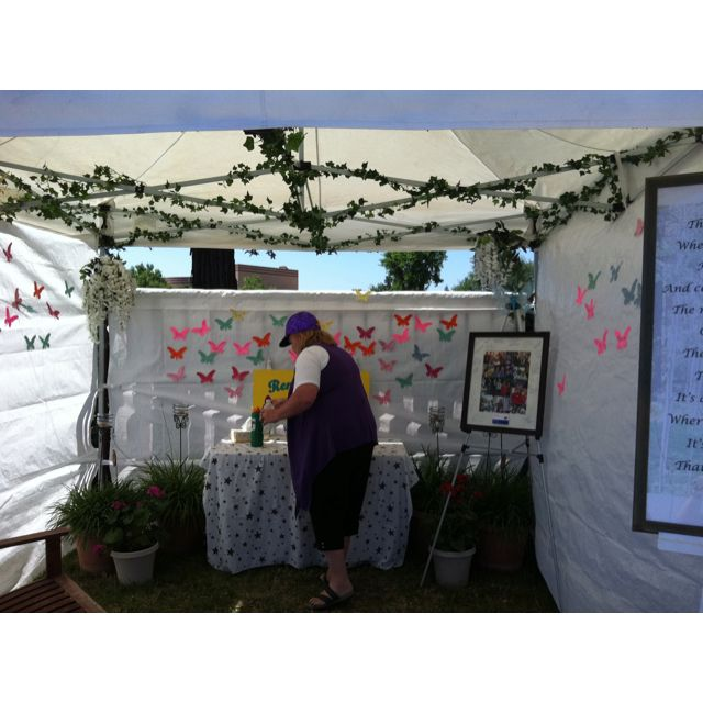 Relay For Life Remember Tent Thanks Modesto Ca For The