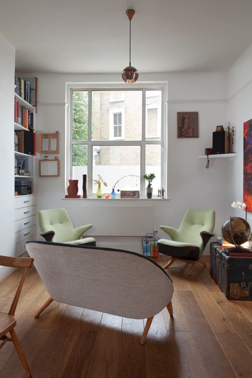 House In Brixton The UK By A Small Studio Vintage Interior DesignInterior