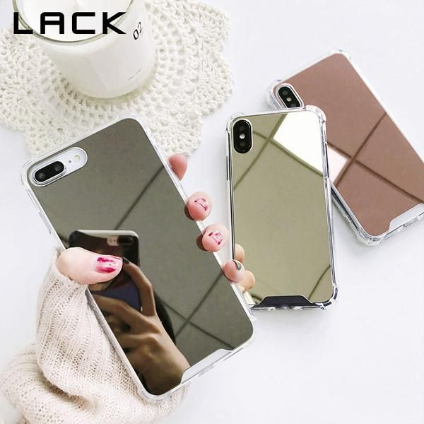 Luxury Mirror Phone Cases For iPhone 7 7 Plus Case For iphone X 6 ...