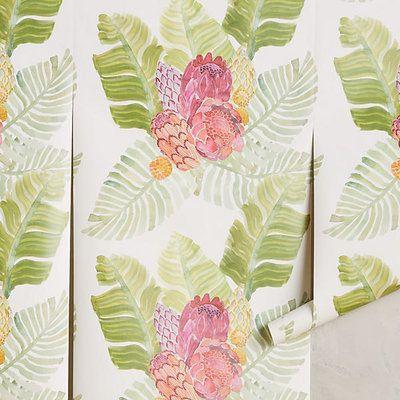 Pantone Picks: Garden Wallpaper | CoastalLiving.com