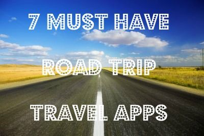 7 Road Trip Travel Apps You must download before your next big trip:)