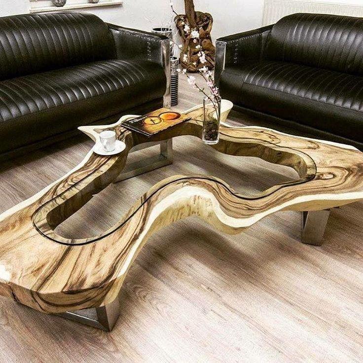 die besten 25 holztisch mit glas ideen auf pinterest. Black Bedroom Furniture Sets. Home Design Ideas