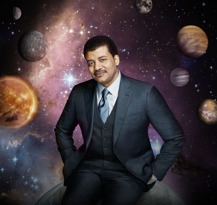 "The astrophysicist says that participating in a ""great unfolding of a cosmic story"" should make us feel large, not small. This spring, Tyson hosts a TV series called Cosmos: A Space-Time Odyssey."