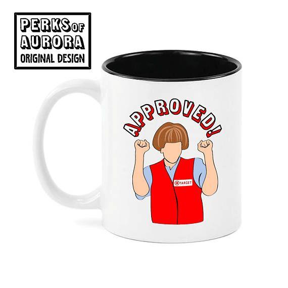 Target Lady SNL inspired funny coffee mug