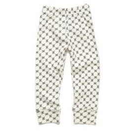 Witte legging met doodskopjes - Nununu