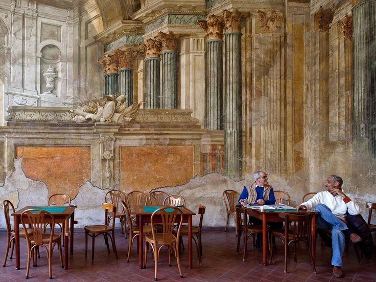 Καφετέρια στο Σορέντο, Ιταλία
