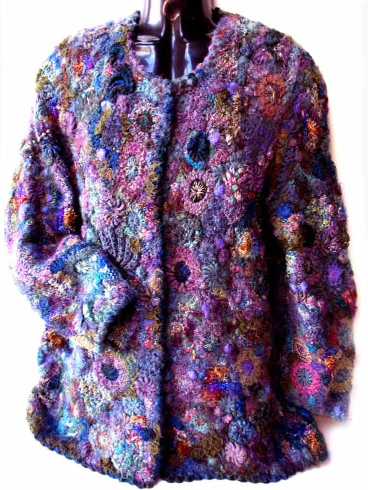 Prudence Mapstone purple-blue-cardigan | Flickr - Photo Sharing!