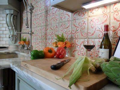 Tabarka Studio Moroccan Tile  Kitchen Backsplash