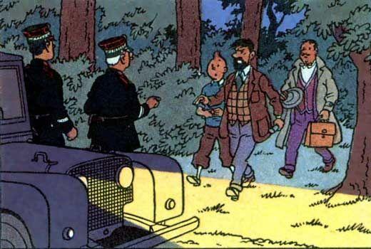 Land Rover Series - Tintin