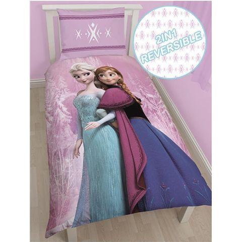 Frozen Spring Single Size Reversible Doona cover Set.  Available at Kids Mega Mart online Shop Australia www.kidsmegamart.com.au