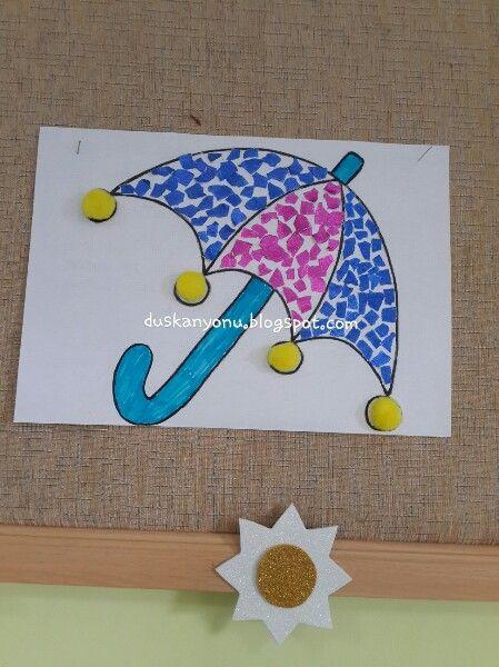 Yırtma yapıştırma ♡ #okuloncesi #sanatetkinligi #sanatmerkezi #kindergarten #presschool #kidscraft #etkinlikpaylasımı #duskanyonublog