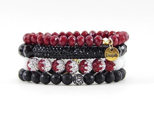 "Erimish ""Joe Gameday"" Stack Bracelet Set"