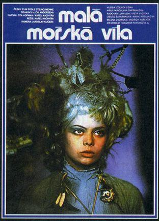1976 Czech film adaptation of Hans C. Anderson's 'The Little Mermaid' (MALÁ MORSKÁ VÍLA)