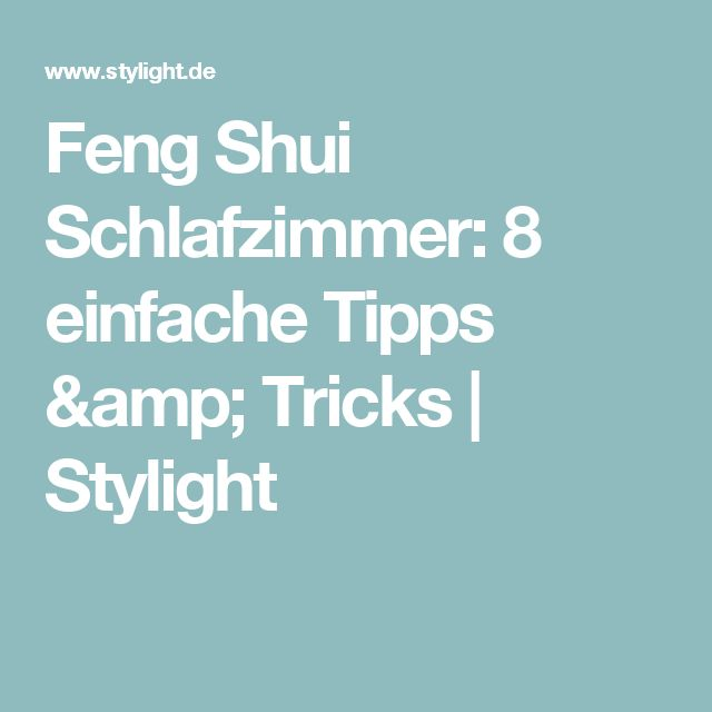 1000+ ideas about Feng Shui Schlafzimmer on Pinterest | Feng shui ...