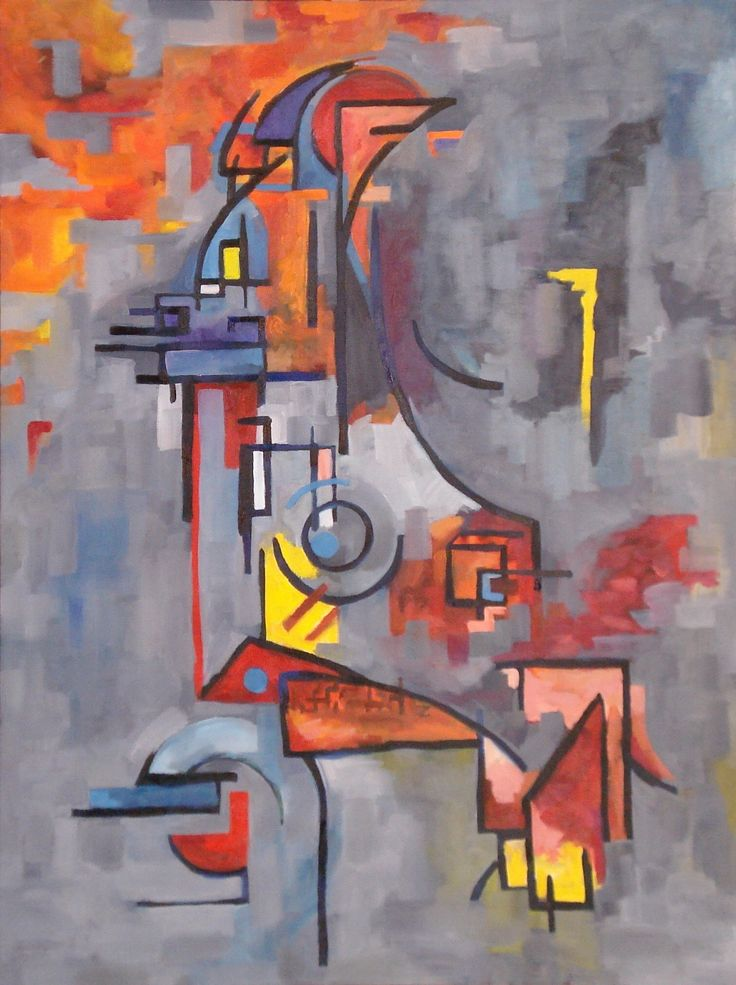 """Composition in Grey, Tyrone Rogers, 2016, oil on canvas, 36"""" x 48""""  Abstract art painting painter"""