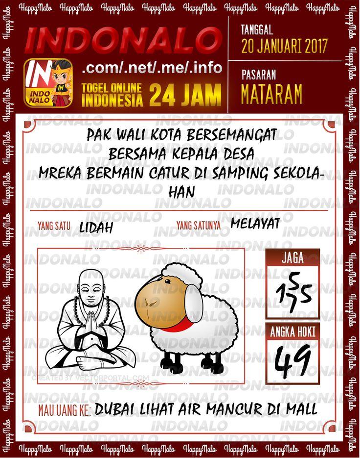 Nomer Hoki 4D Togel Wap Online Live Draw 4D Indonalo Mataram 20 Januari 2017