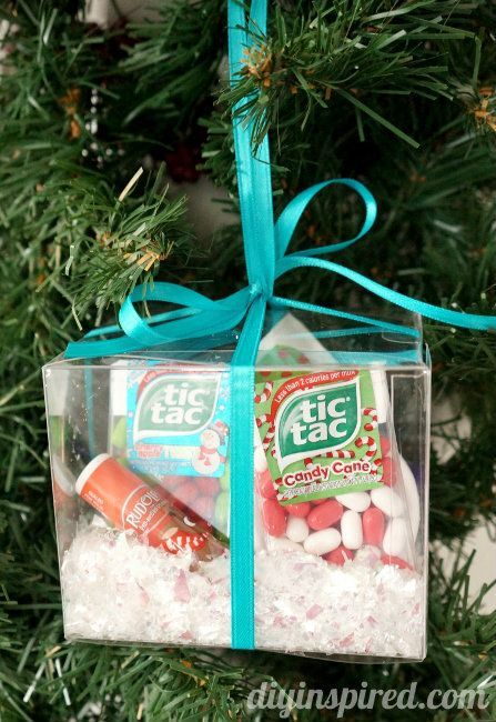 Winter Survival Kit Ornament Gift Idea- includes Tic Tac Mints, lip balm, antibacterial soap, bandages, and lotion