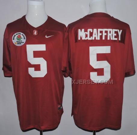 http://www.xjersey.com/stanford-cardinal-5-christian-mccaffrey-red-2016-rose-bowl-jersey.html STANFORD CARDINAL 5 CHRISTIAN MCCAFFREY RED 2016 ROSE BOWL JERSEY Only $37.00 , Free Shipping!