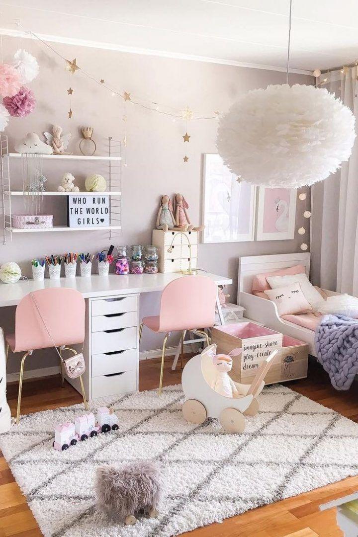 11 Schlafzimmer skandinavisch rosa